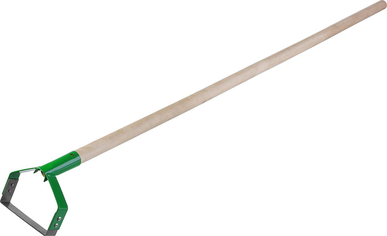 """Полольник петлеобразный """"Росток"""", с черенком, рабочая часть 115 x 24 x 1300 мм"""