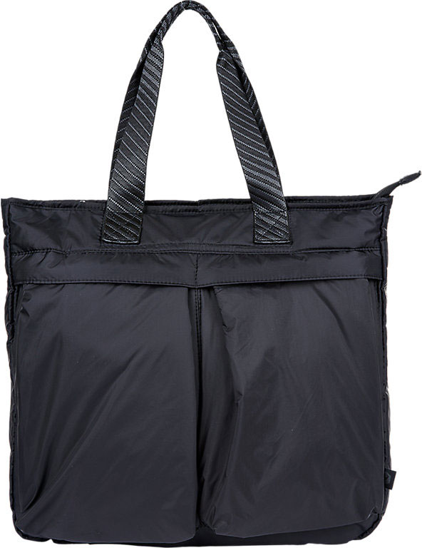 Сумка Asics Tote Bag, цвет: черный. 155928-0904 front pocket nylon convertible tote bag