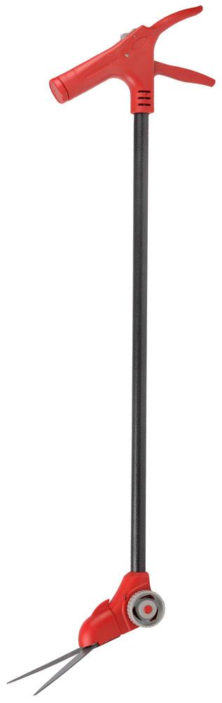 """Ножницы для стрижки травы """"Grinda"""", поворотный механизм 180 градусов, на удлинителе и подставке с колесиками, 965 мм"""
