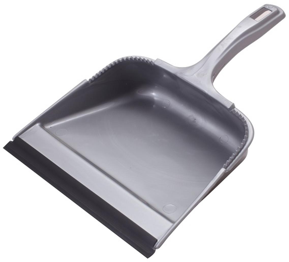 Совок Svip София, с кромкой, цвет: серебряный совок svip декор пейсли цвет серо голубой