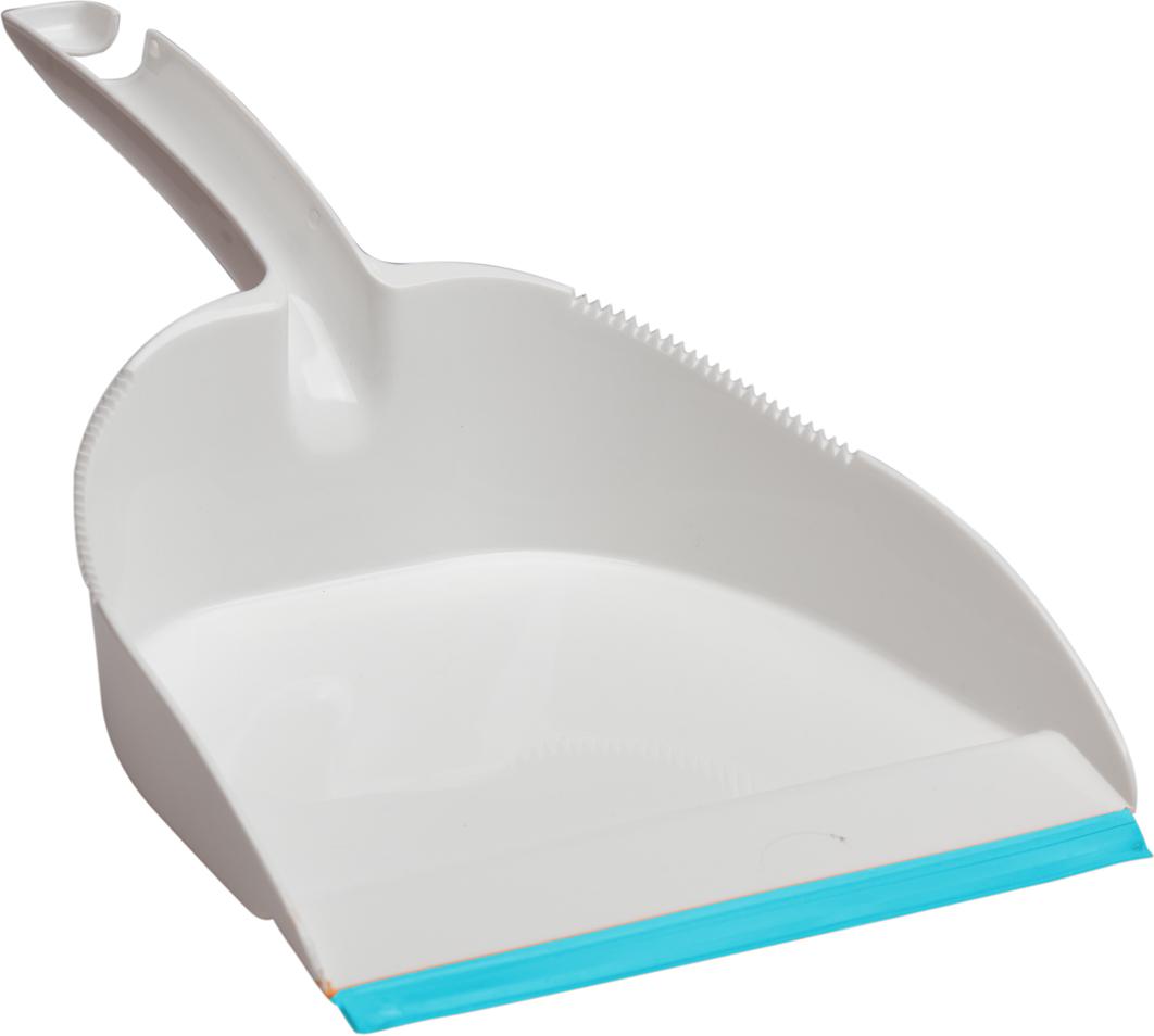 Совок Svip Софтэль, цвет: белый, бирюзовый совок svip декор пейсли цвет серо голубой