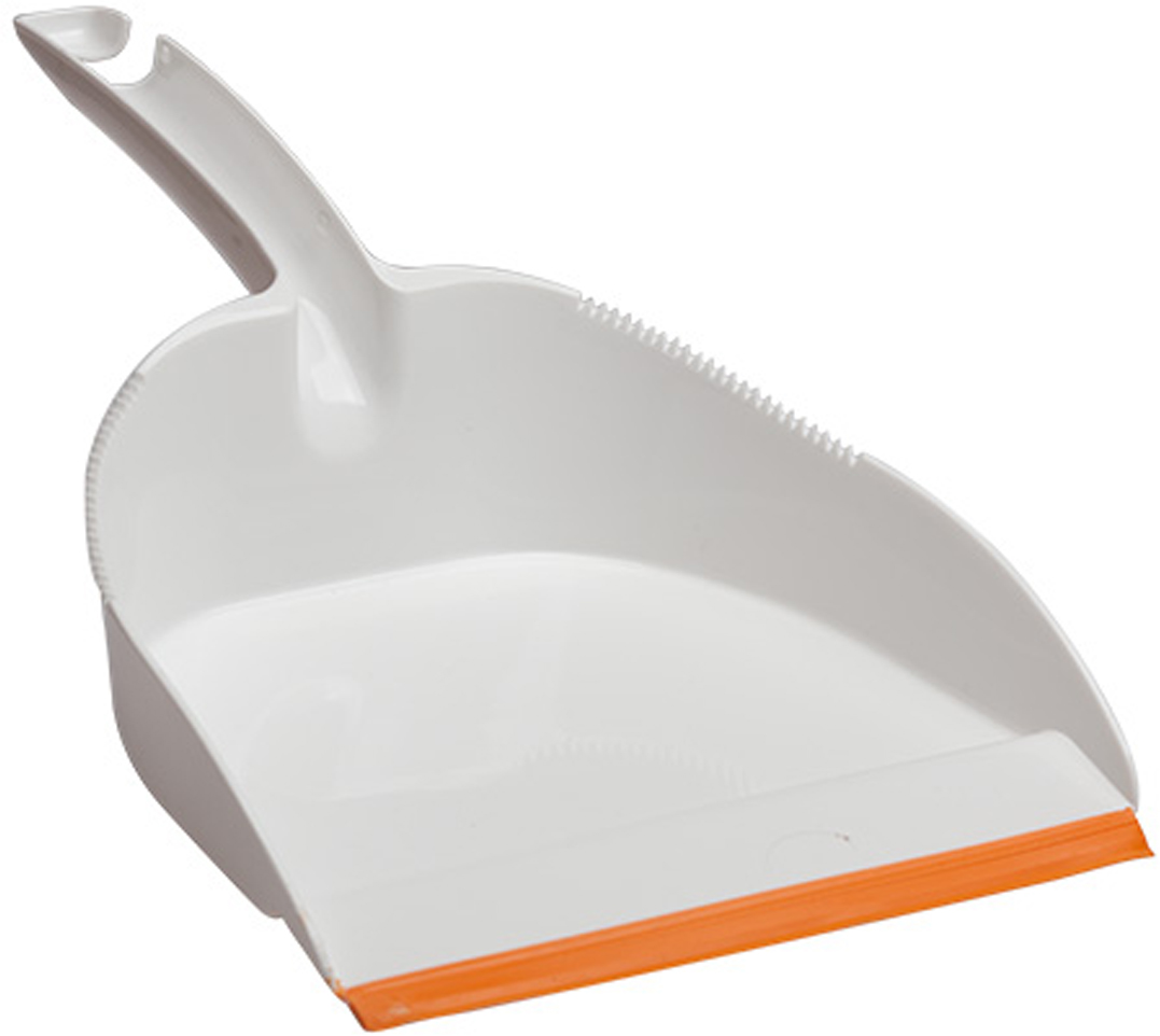 Совок Svip Софтэль, цвет: белый, оранжевый совок svip декор пейсли цвет серо голубой