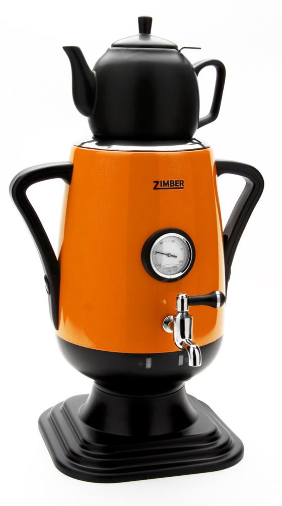 Электрический самовар Zimber ZM-10930 самовар электрический 3 литра гжель sam0201