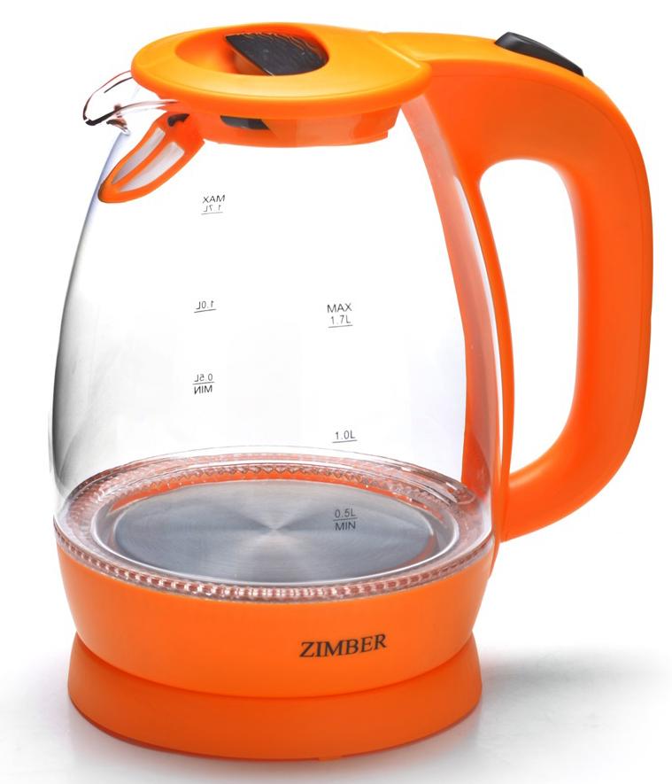 Электрический чайник Zimber ZM-11177 электрический чайник zimber zm 1235 blue
