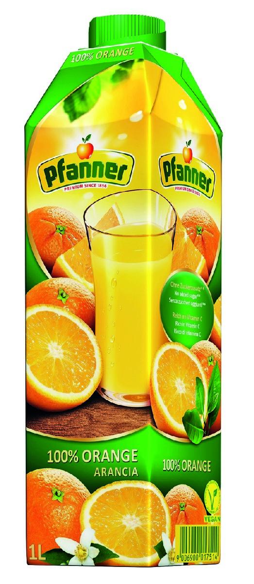 Pfanner Сок апельсин, 1 л