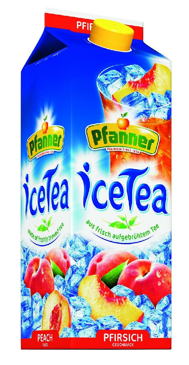Pfanner Чай холодный персик, 2 л pfanner нектар персик 1 л