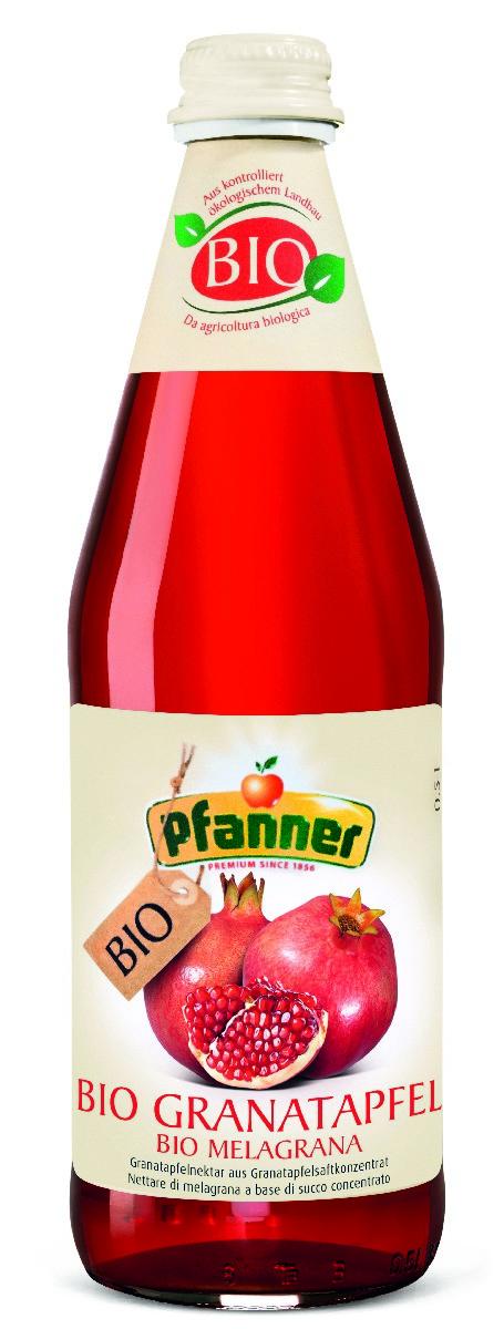 Pfanner Нектар гранат БИО, 500 мл pfanner нектар персик 1 л