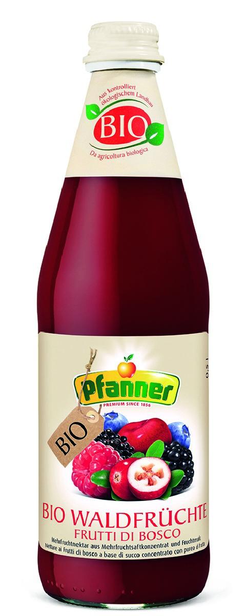 Pfanner Нектар лесная ягода БИО, 500 мл pfanner нектар персик 1 л
