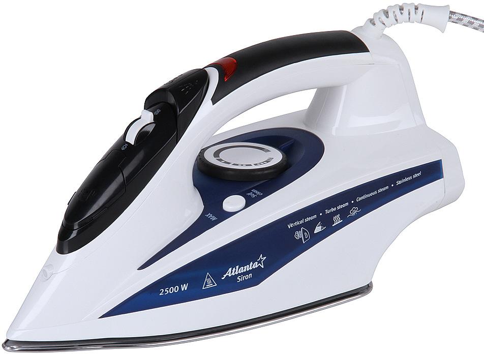Atlanta ATH-5501, White утюг с пароувлажнением