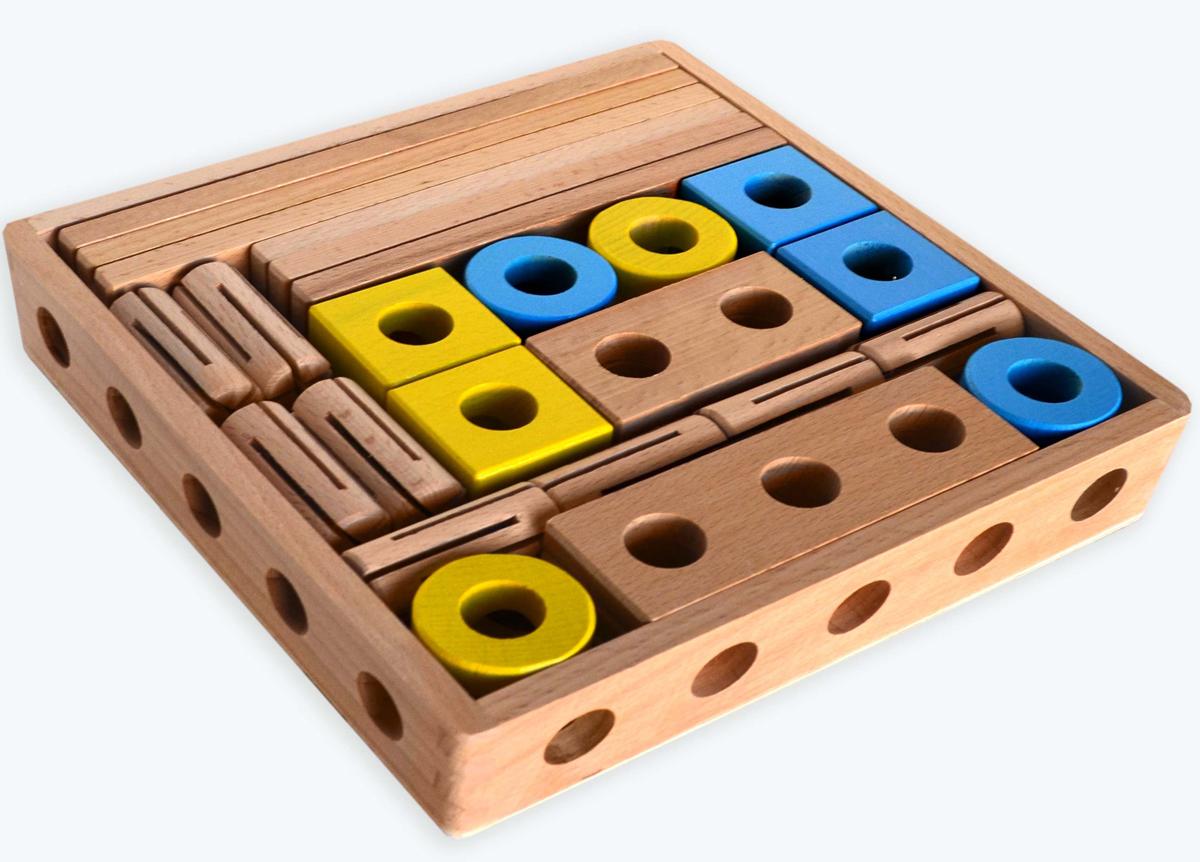 Престиж-Игрушка Деревянный конструктор Трансформер К2380