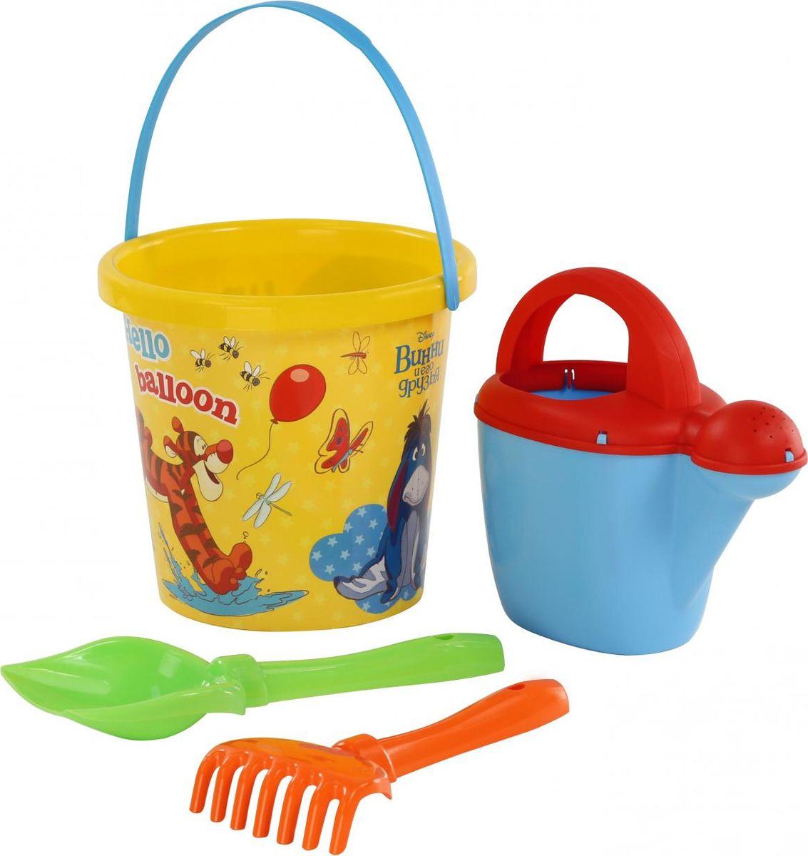 Disney Набор игрушек для песочницы Винни и его друзья №9, 4 предмета, цвет в ассортименте disney набор игрушек для песочницы винни и его друзья 4