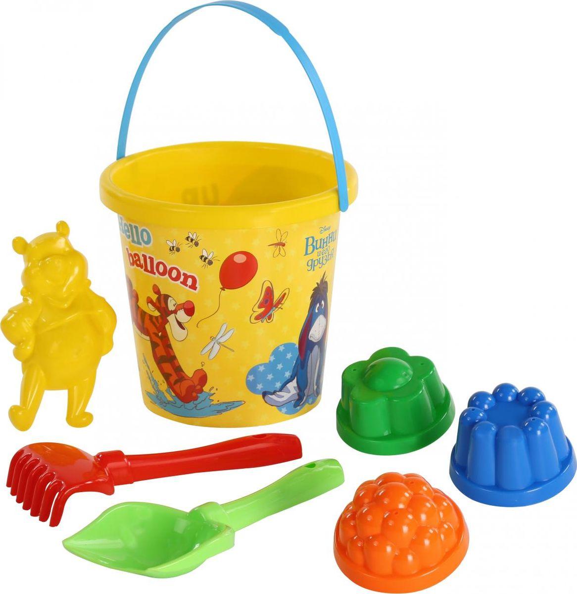 Disney Набор игрушек для песочницы Винни и его друзья №10, 7 предметов, цвет в ассортименте disney набор игрушек для песочницы винни и его друзья 4