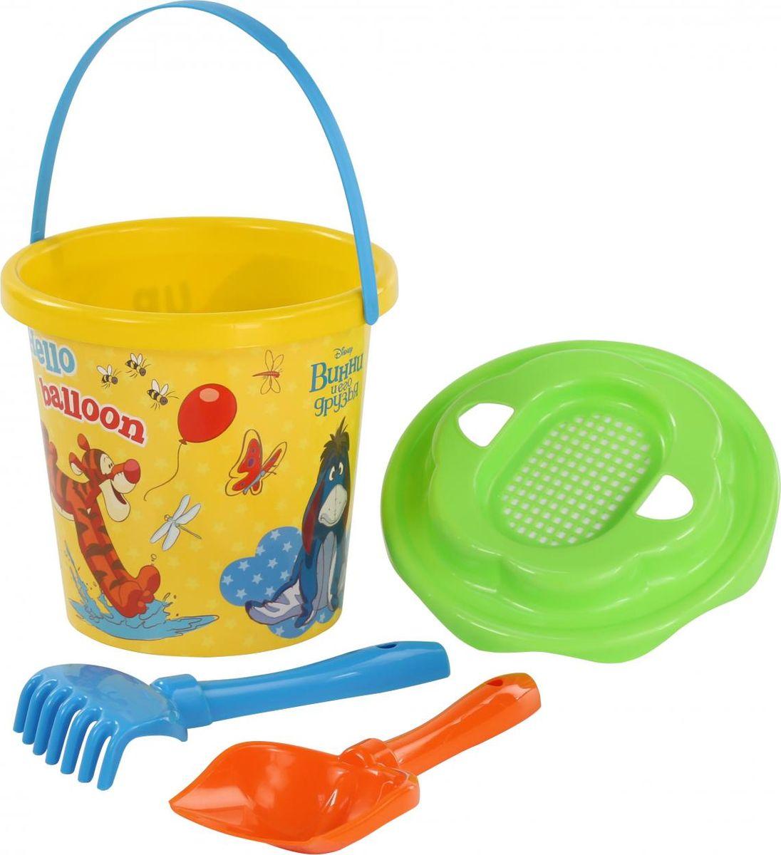 Disney Набор игрушек для песочницы Винни и его друзья №11, 4 предмета, цвет в ассортименте disney набор игрушек для песочницы винни и его друзья 4