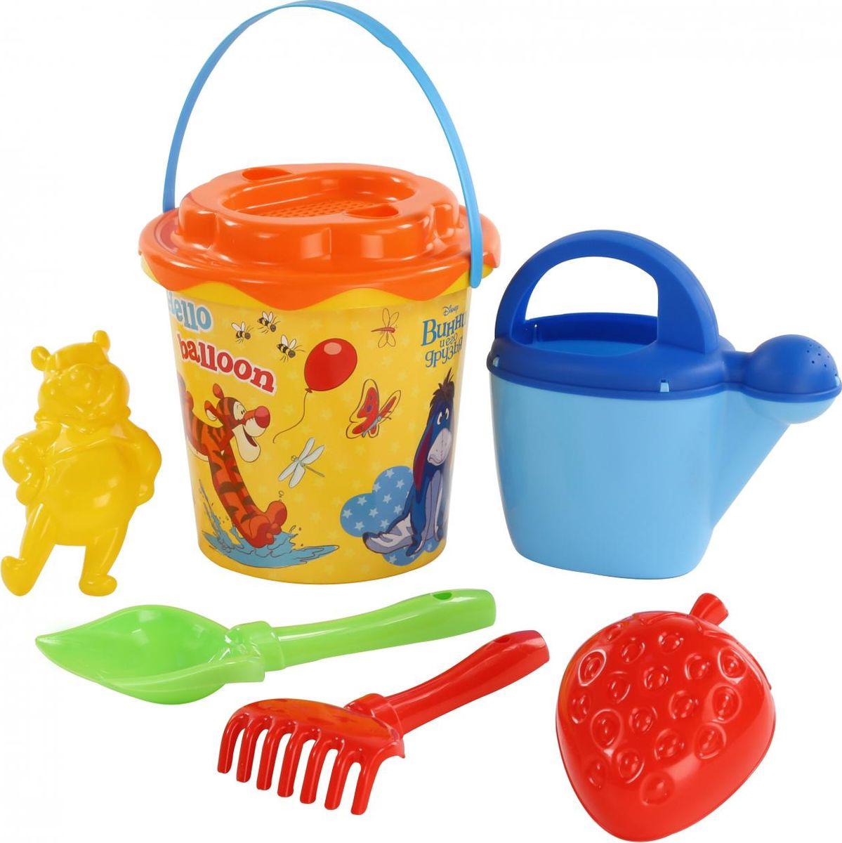 Disney Набор игрушек для песочницы Винни и его друзья №12, цвет в ассортименте disney набор игрушек для песочницы винни и его друзья 4
