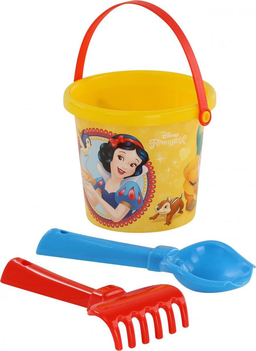 Disney Набор игрушек для песочницы Принцесса №1, 3 предмета, цвет в ассортименте цена
