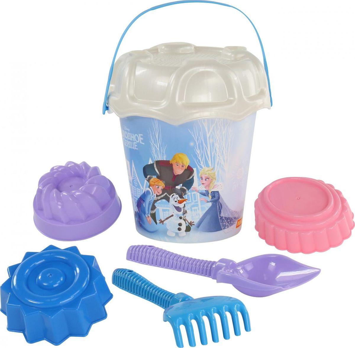 Disney Набор игрушек для песочницы Холодное сердце №14, 7 предметов, цвет в ассортименте polesie набор игрушек для песочницы полесье холодное сердце 14 7 предметов