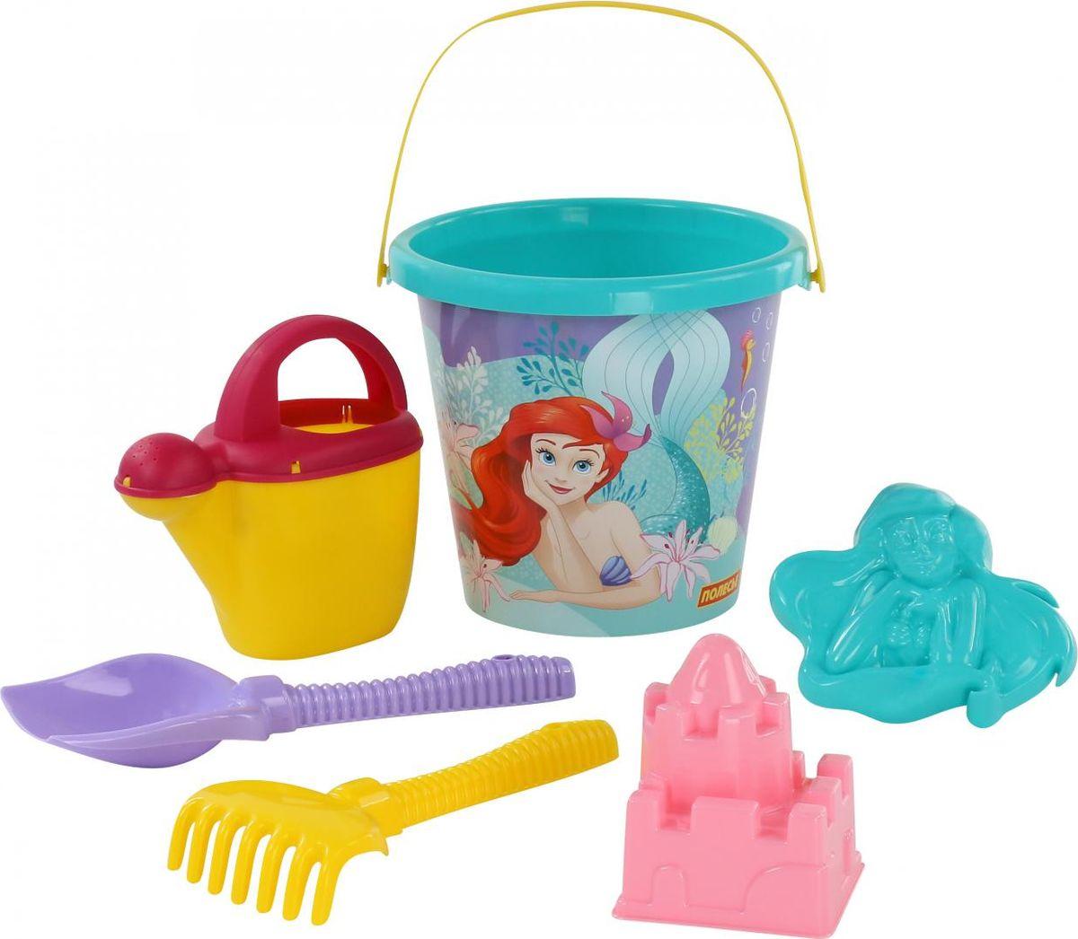 Фото - Disney Набор игрушек для песочницы Русалочка №5, 6 предметов, цвет в ассортименте gowi набор игрушек для песочницы ручки и ножки 5 предметов
