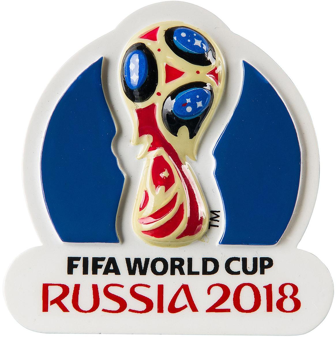Магнит сувенирный FIFA 2018 Кубок магнит сувенирный fifa 2018 кубок 6 х 13 см сн538
