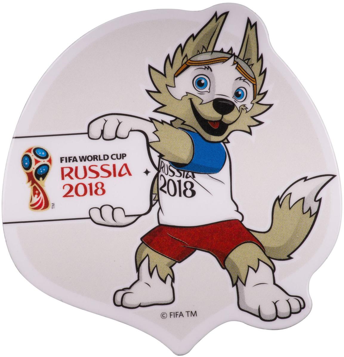 Магнит сувенирный FIFA 2018 Летящий мяч, 8 х 11 см. СН520 магнит fifa 2018 россия пвх