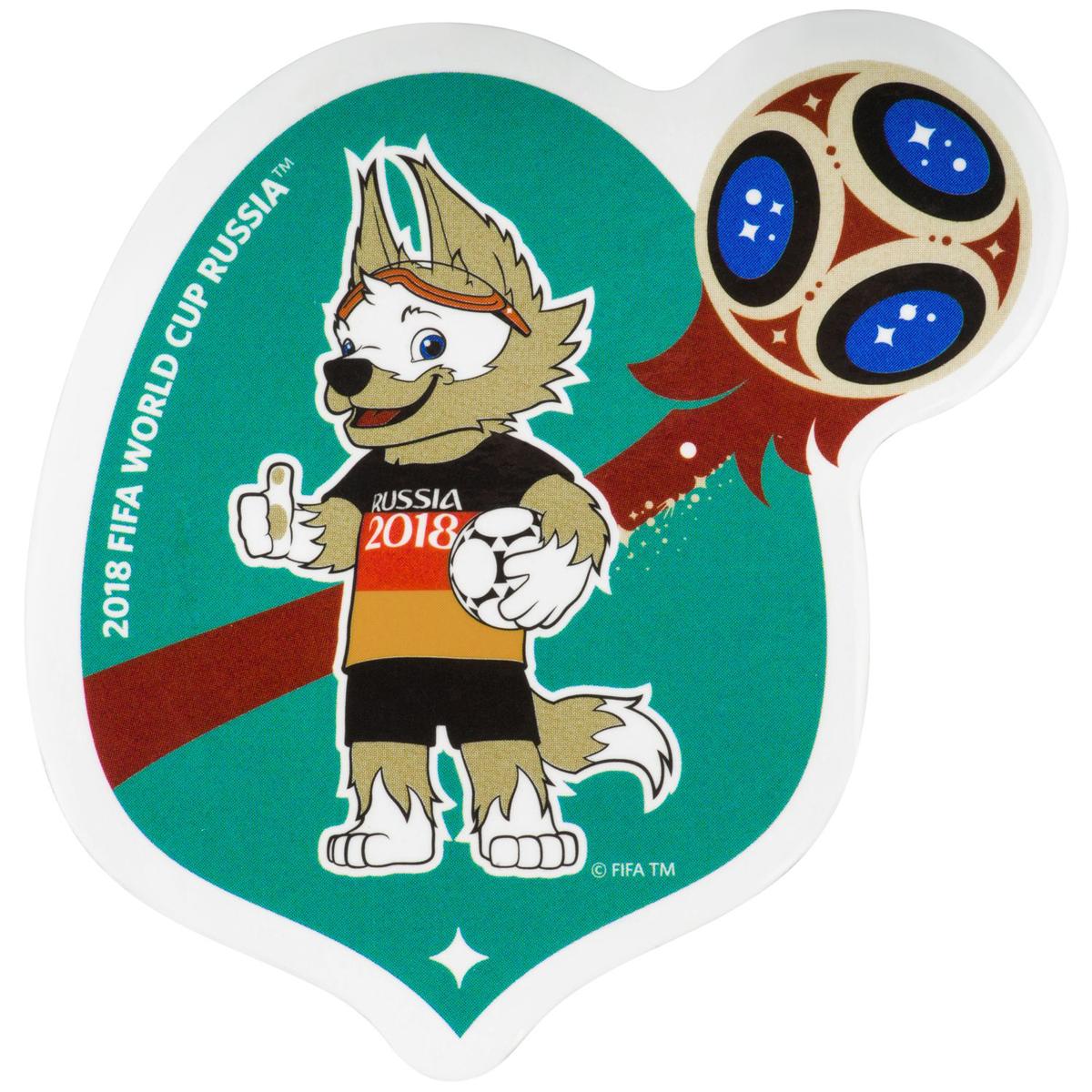 Магнит сувенирный FIFA 2018 Забивака Германия, 8 х 11 см. СН522 магнит fifa 2018 забивака фристайл полистоун сн026