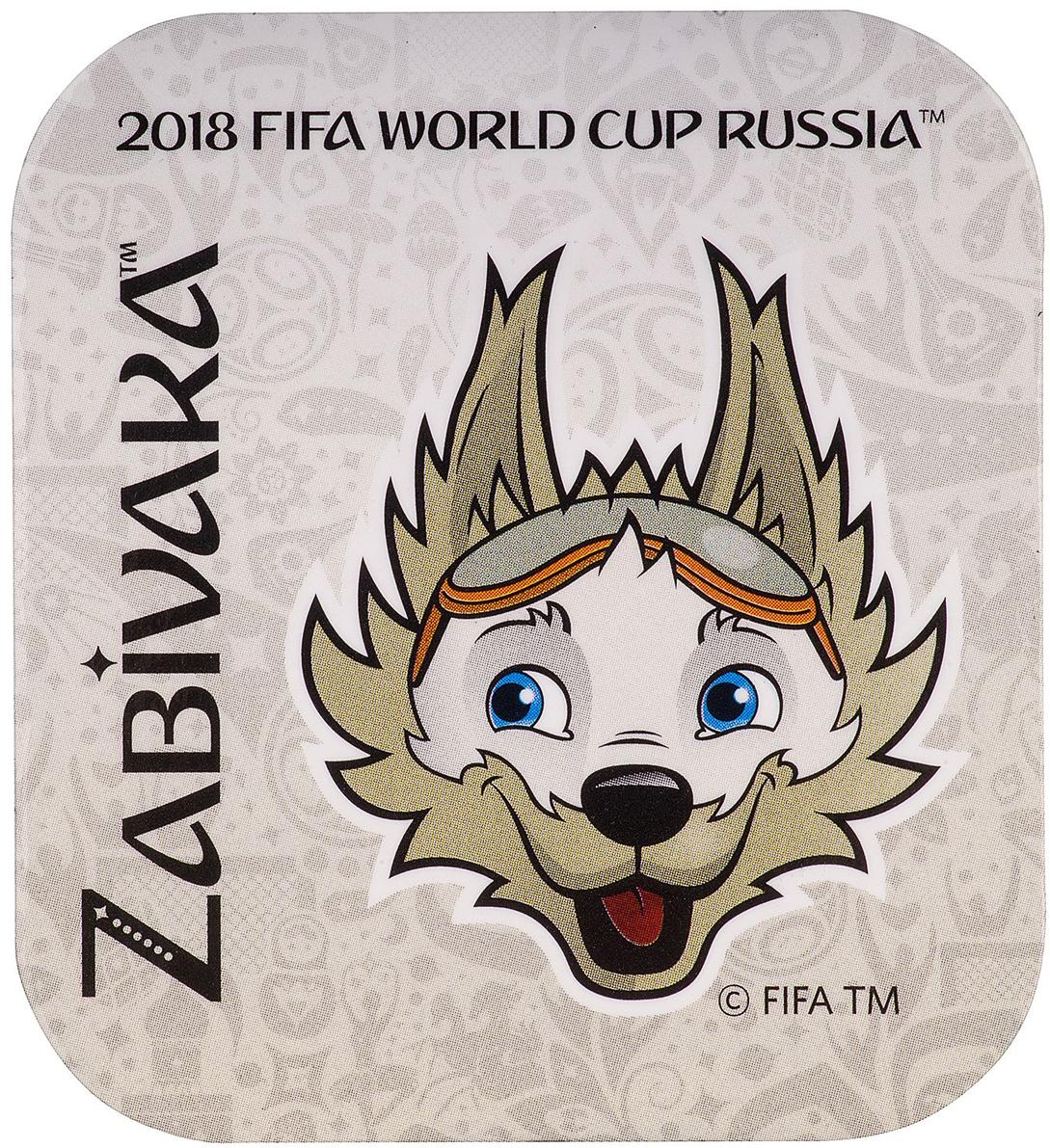 Магнит сувенирный FIFA 2018 Забивака Удар! Триколор, 8 х 11 см. СН532 магнит fifa 2018 забивака фристайл полистоун сн026