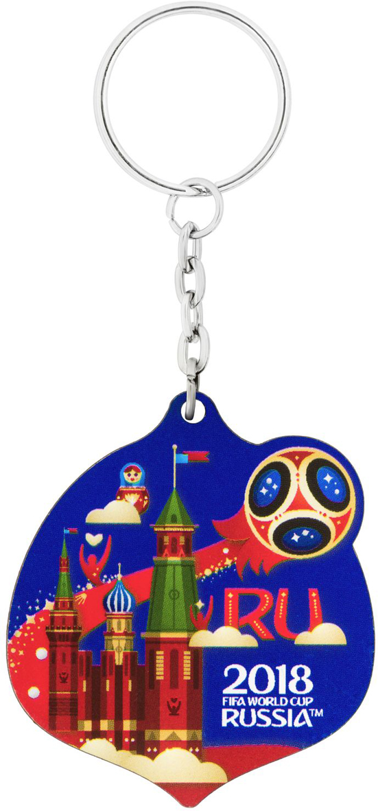 Брелок сувенирный FIFA 2018 Кубок, 6 х 13 см. СН538 магнит сувенирный fifa 2018 кубок 6 х 13 см сн538