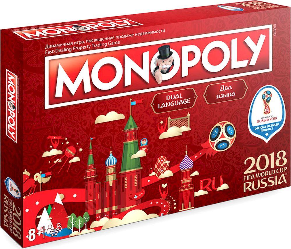 Hasbro Games Настольная игра Монополия FIFA настольная игра для вечеринки hasbro монополия моя первая игра a6984h