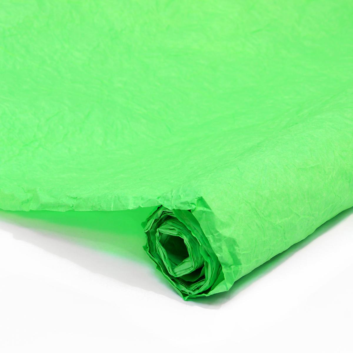 Бумага упаковочная Veld-Co Эколюкc, цвет: салатовый, 70 см х 5 м коробка подарочная veld co giftbox трансформер белые розы цвет разноцветный 17 5 х 17 5 х 17 см