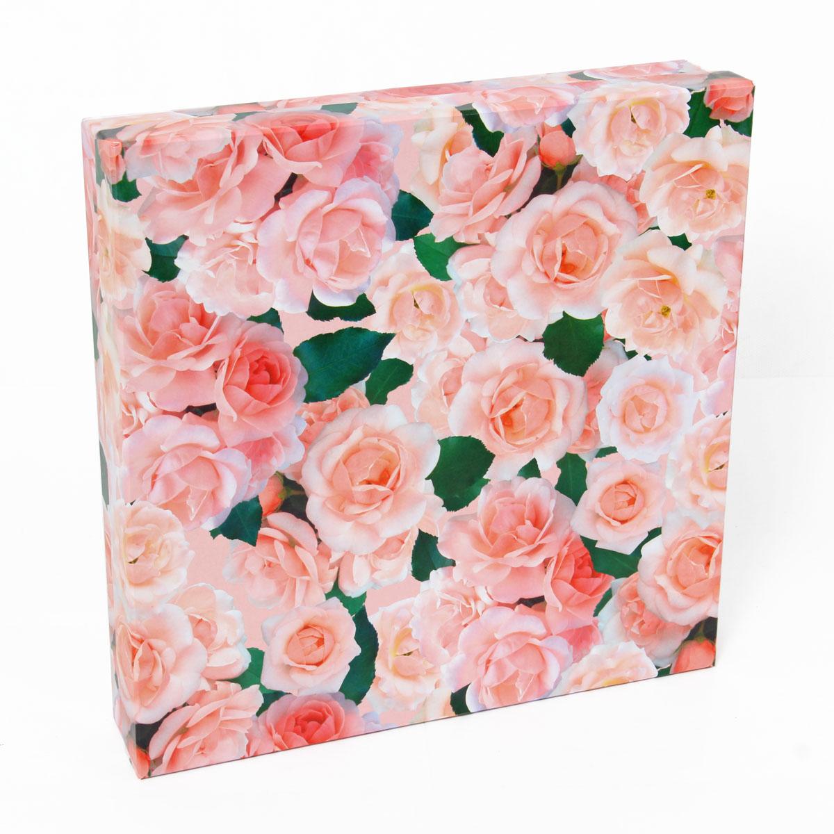 Набор подарочных коробок Veld-Co Нежные розы, 4 шт коробка подарочная veld co giftbox трансформер paris под бутылку цвет бежевый 34 4 х 8 2 х 8 2 см