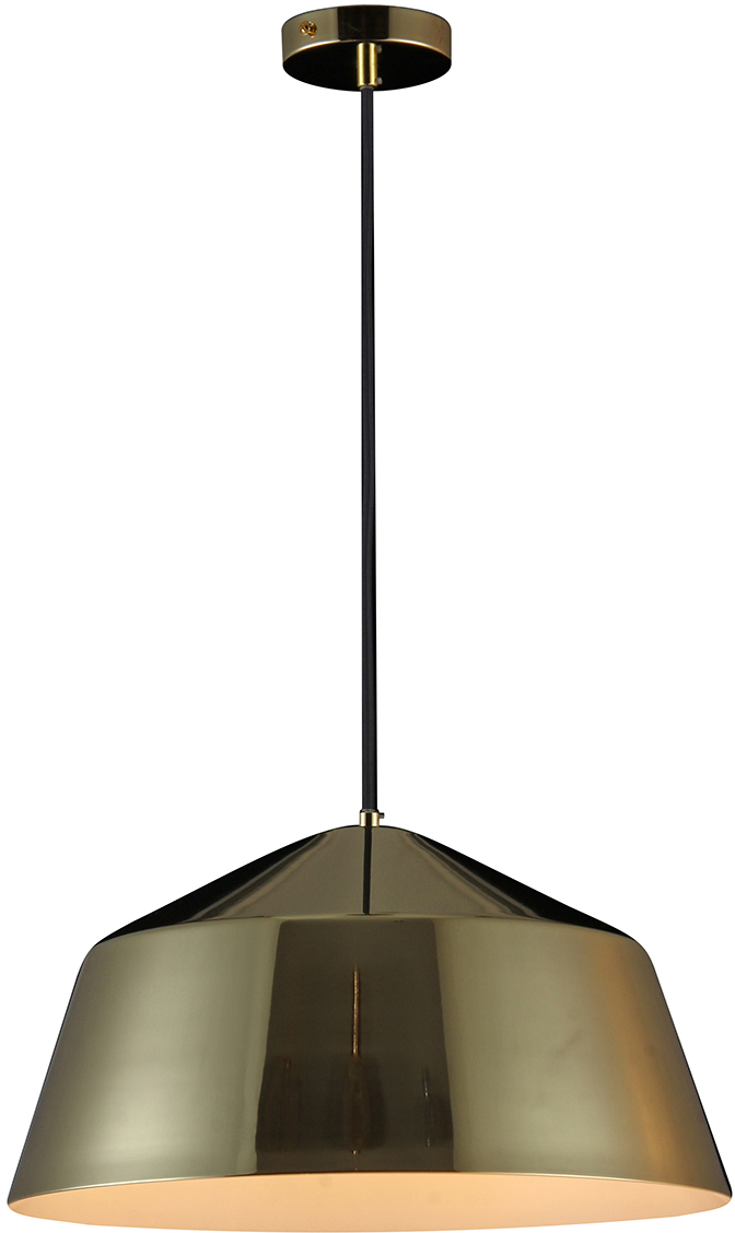 Потолочный светильник-подвесNatali Kovaltseva Модерн, 1 х E27, 40W. MINIMAL ART 77002A-1P GOLDMINIMAL ART 77002A-1P GOLDСтиль модерн характеризуется изогнутыми, несимметричными и грациозными линиями. Очень стильно данные светильники смотрятся в интерьере, в основе которых лежат нестандартные решения. Если Вы любитель всего оригинального, нового, неизбитого, то светильники коллекции Natali Kovaltseva направления МОДЕРН – это Ваш выбор! Размеры: D40 x H120 cm