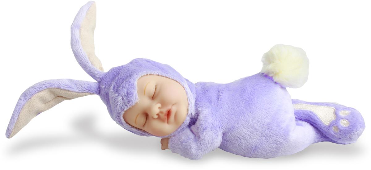 Ovation Anne Geddes Кукла Детки-кролики цвет голубой белый цена