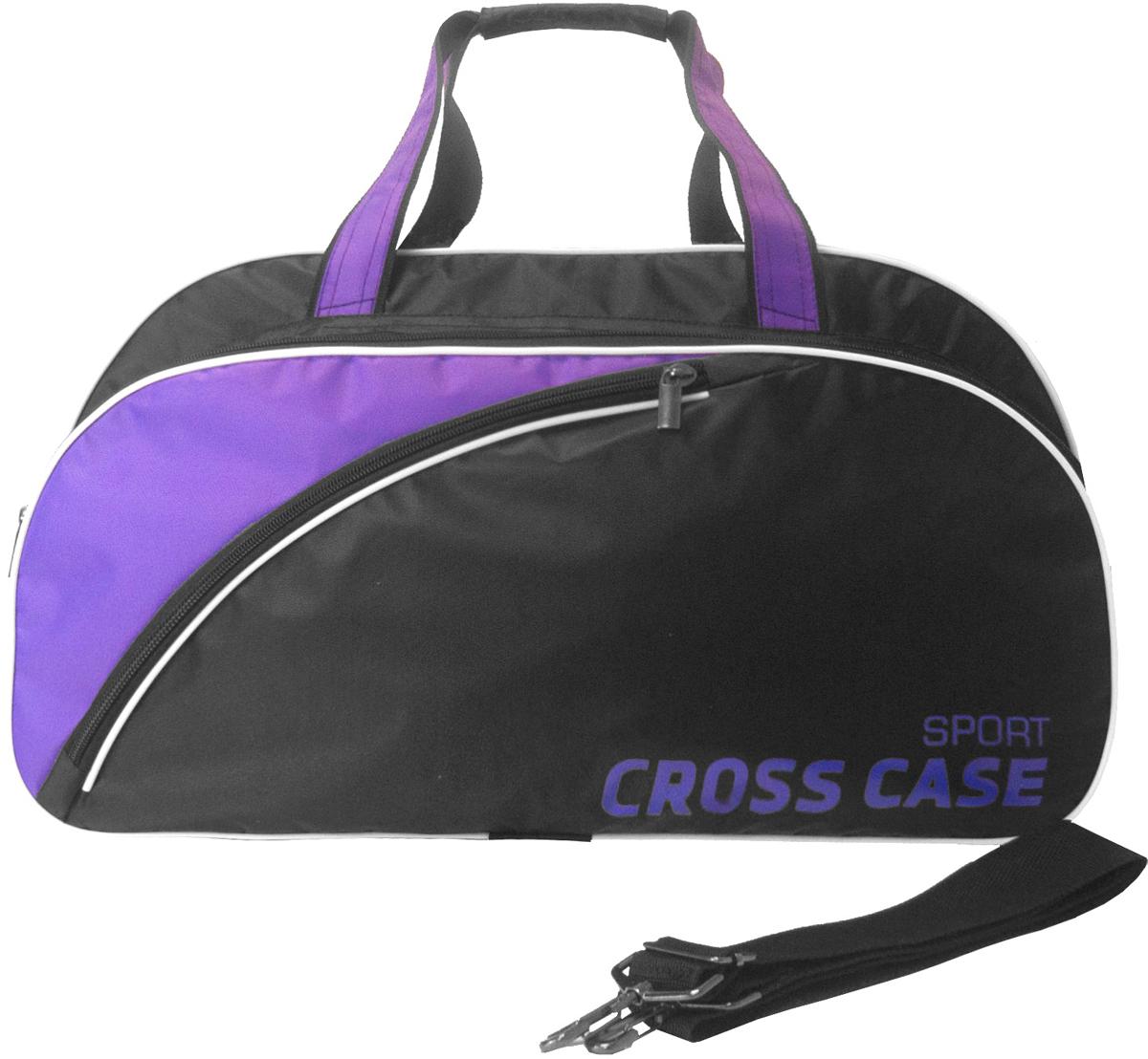 Сумка мужская Cross Case, цвет: черный, фиолетовый. CCS-1039-02 аксессуар сумка 17 3 cross case cc17 014 claret