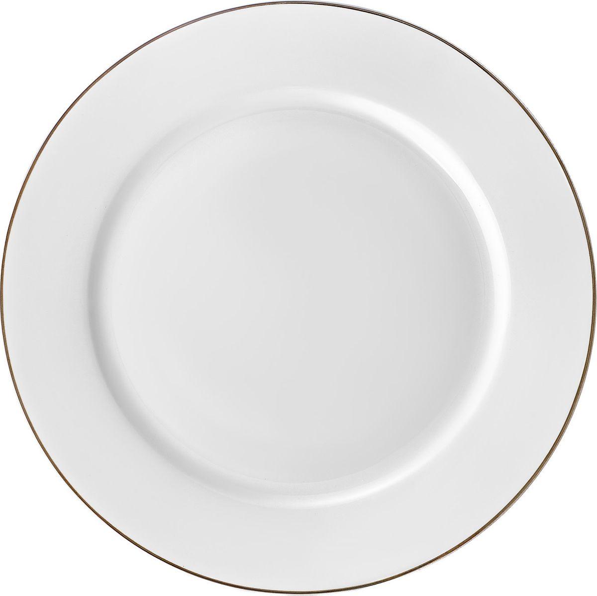 Набор тарелок 6 шт. десертная, 20,5 см, костяной фарфор Alpino, ALP020WE301