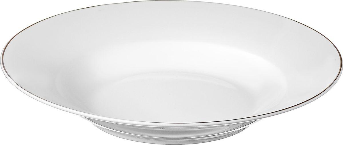 Набор суповых тарелок 5 шт,22,5 см, костяной фарфор, Alpino, ALP023WE301