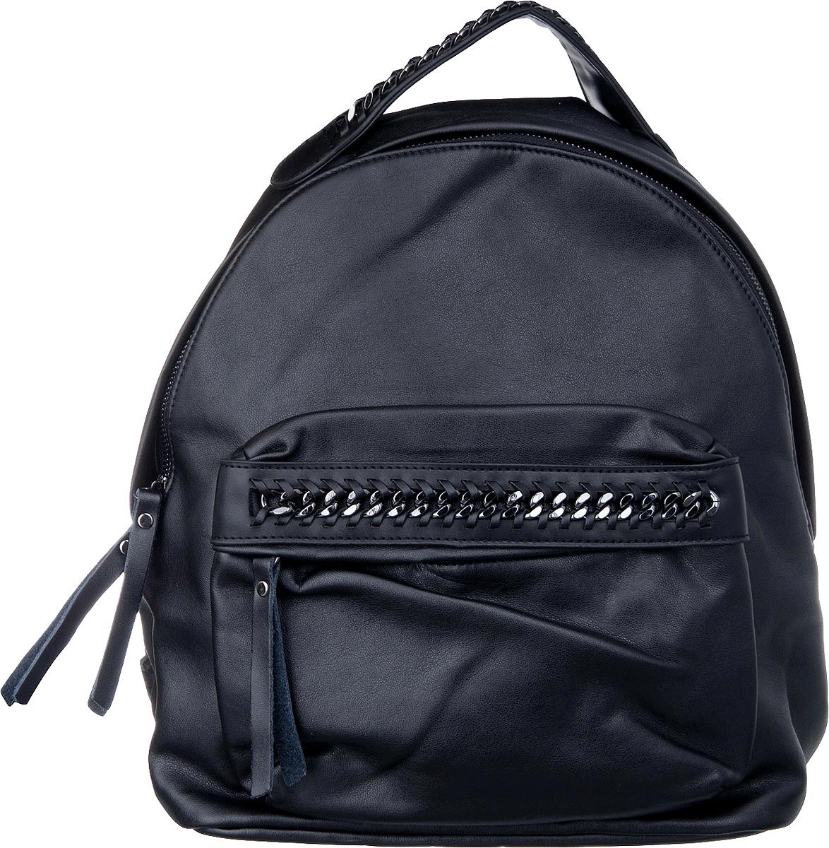 цена Рюкзак женский Vitacci, цвет: черный. BG01001-1 онлайн в 2017 году