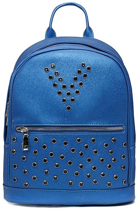 Рюкзак женский Vitacci, цвет: синий. V1266 рюкзак женский vitacci цвет бордовый pt0040