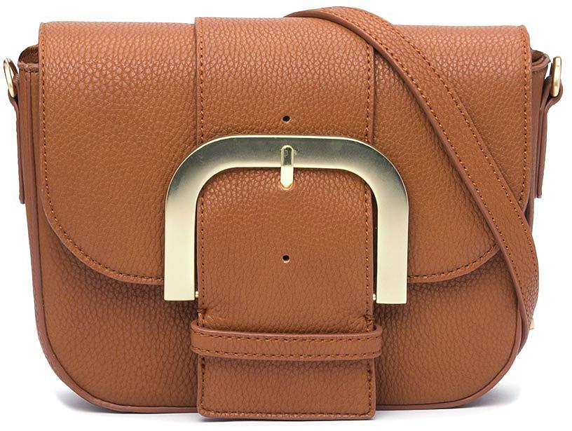 цена Сумка кросс-боди женская Vitacci, цвет: коричневый. YZ0233 онлайн в 2017 году