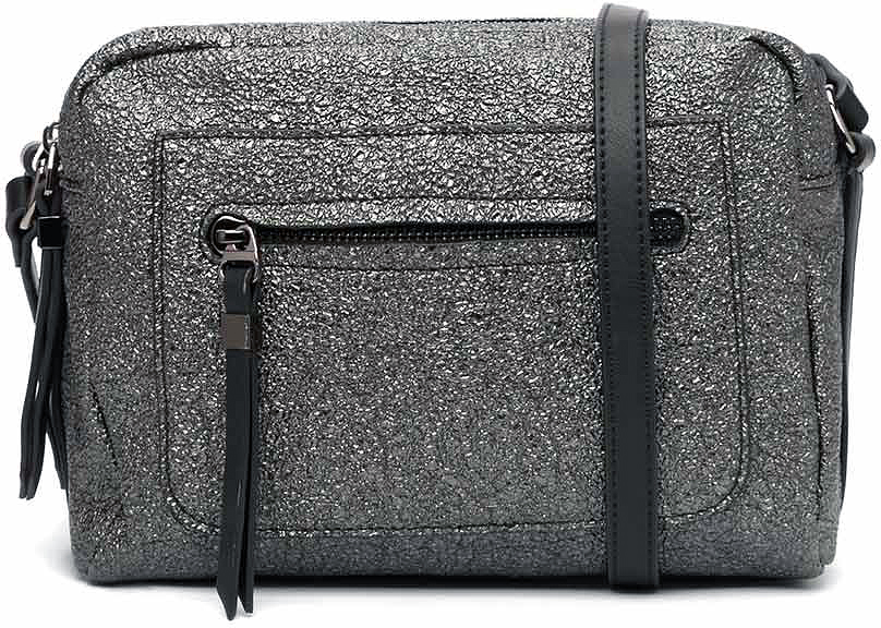 цена Сумка кросс-боди женская Vitacci, цвет: черный. YZ0252 онлайн в 2017 году