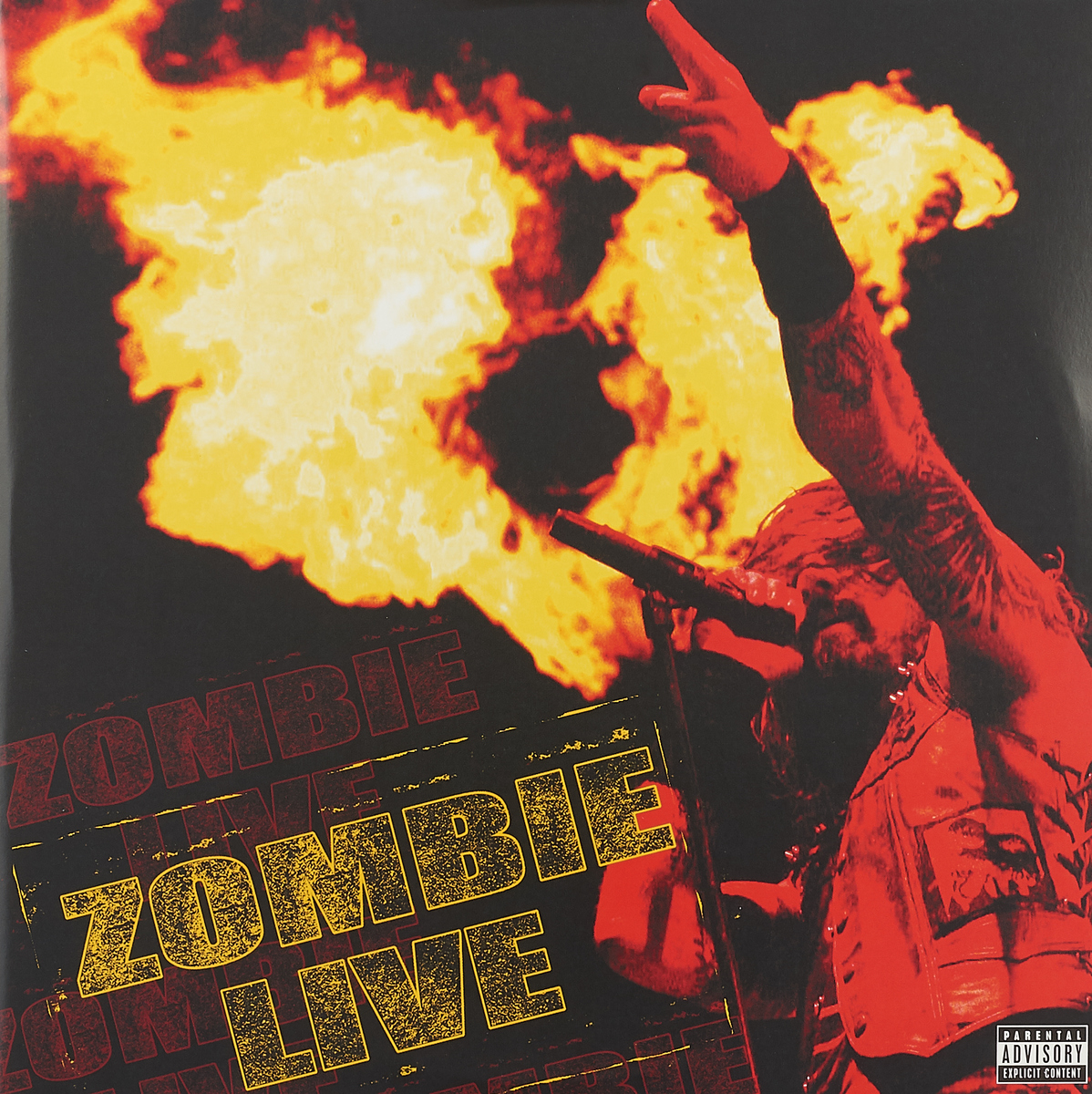 Роб Зомби Rob Zombie. Zombie Live (2 LP) цена и фото