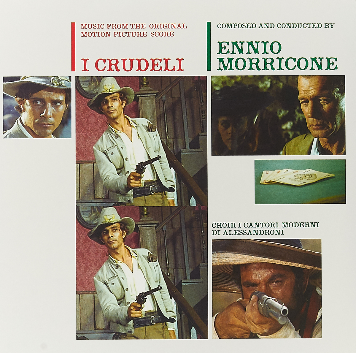 Эннио Морриконе Ennio Morricone. I Crudeli (Music From The Original Motion Picture Score) (LP) эннио морриконе ennio morricone morricone 60 years of music