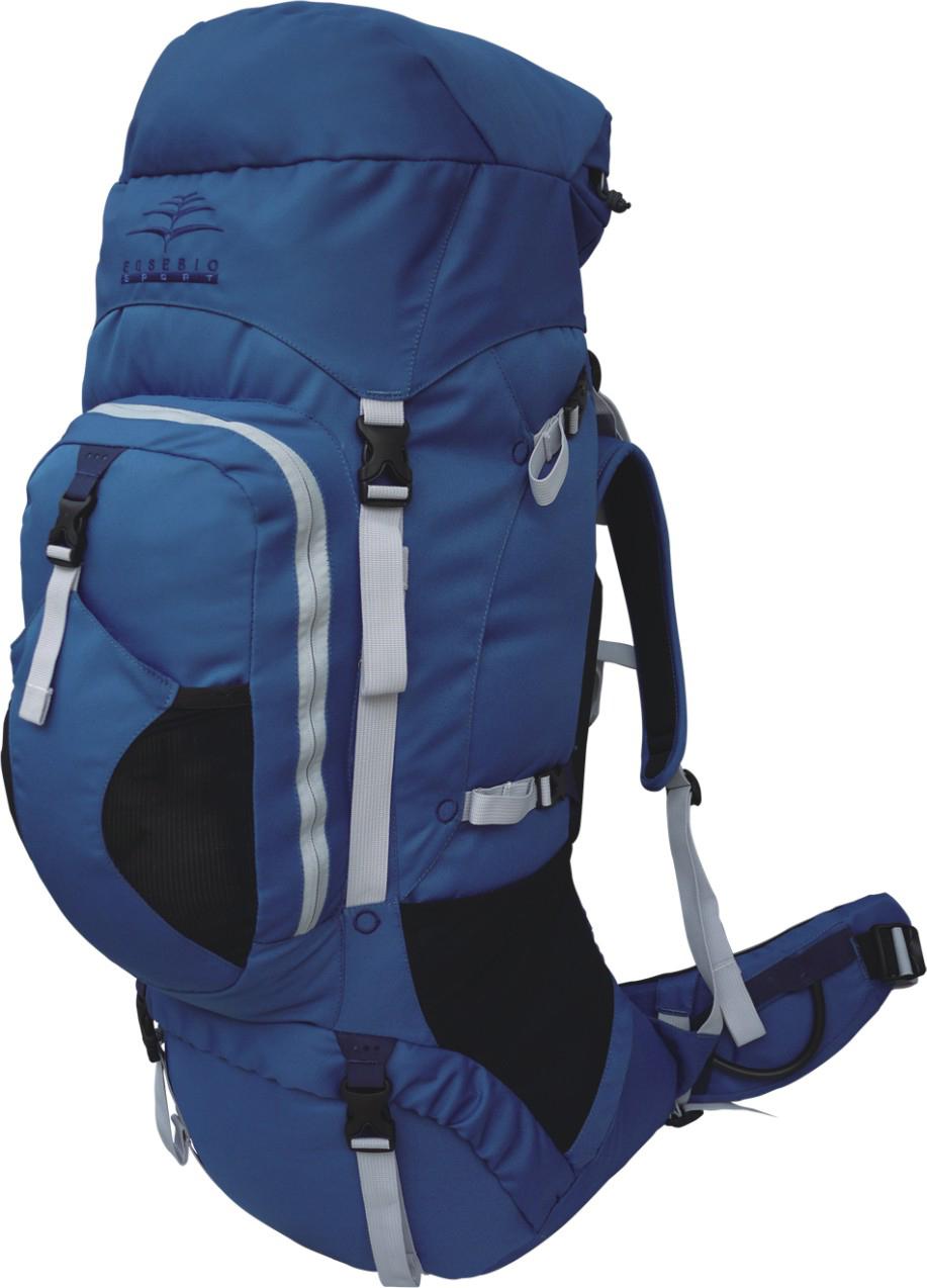 Рюкзак туристический Indigo Trango, цвет: синий, 75 л цена