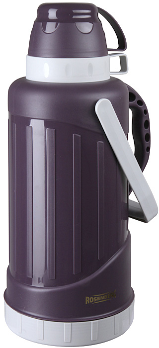 Термос Rosenberg RPL-420005, цвет: фиолетовый, 3,2 л термос rosenberg rpl 420005