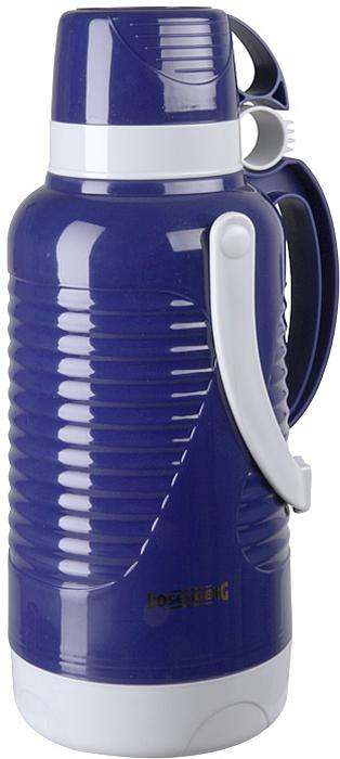 """Термос Rosenberg """"RPL-420010"""", цвет: синий, 3,2 л"""