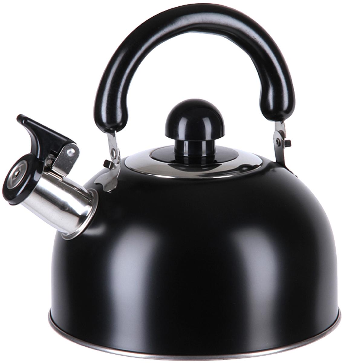 Чайник Pomi d'Oro PSS-650011-M, со свистком, 2,5 л. 77.858@26762 чайник pomi d'oro pss 650011 l со свистком 3 л 77 858 26763
