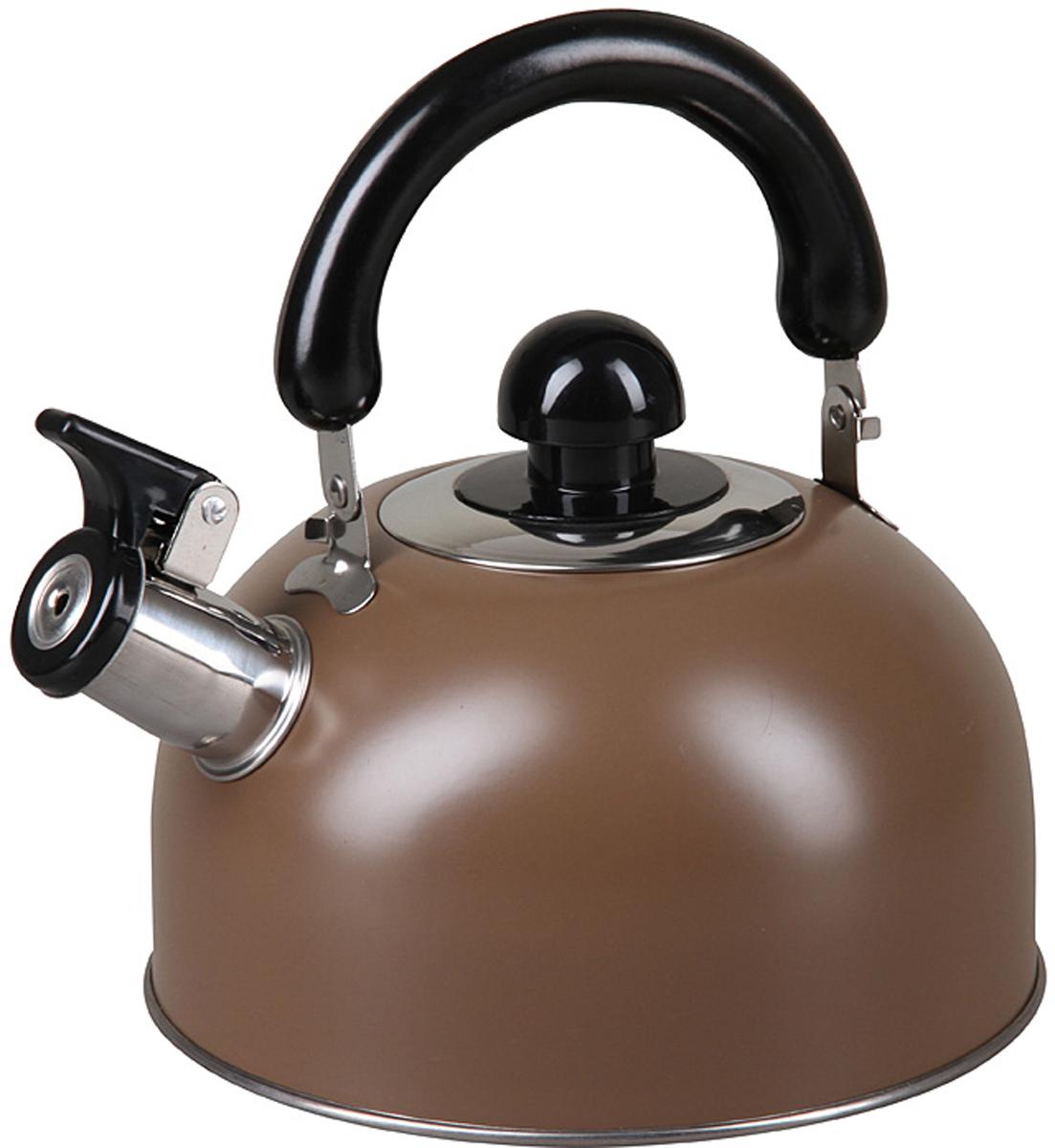 Чайник Pomi d'Oro PSS-650012, со свистком, 2,5 л. 77.858@27415 чайник pomi d'oro pss 650011 l со свистком 3 л 77 858 26763