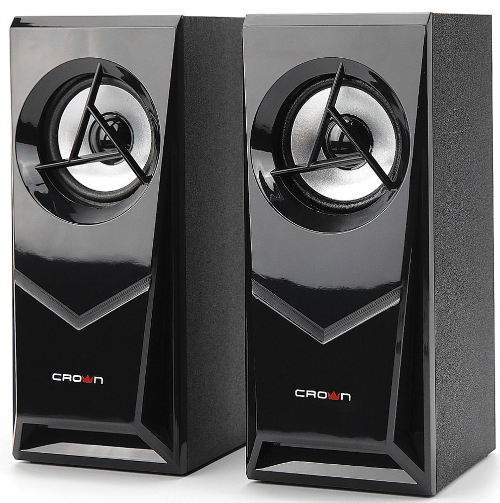 лучшая цена Компьютерная акустика Crown Micro CMS-603, Black