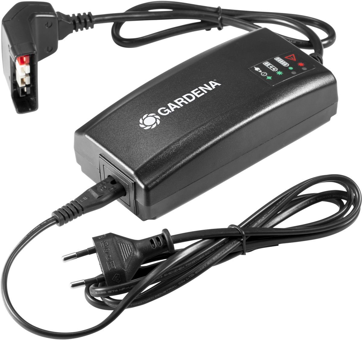 Зарядное устройство Gardena BLi-40, для литий-ионных аккумуляторов (для арт. 9842, 9843) аккумулятор gardena bli 40 160 литий ионный