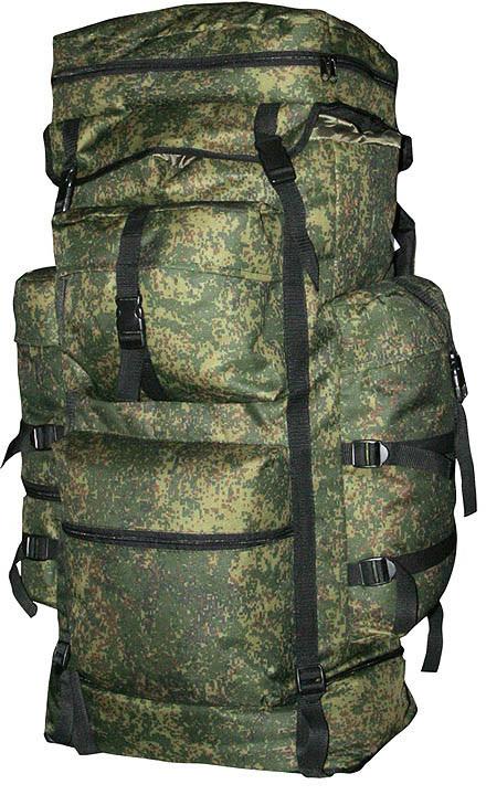 Рюкзак туристический Indigo Охотник, цвет: зеленый, темно-коричневый, черный, 70 л рюкзак туристический сплав goblin 70 цвет черный 70 л