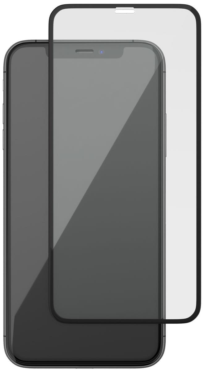 uBear GL15BL03-I10 защитное 3D стекло для Apple iPhone Х, Black защитное стекло ubear 3d full cover gl12bl03 i10 для apple iphone x xs с рамкой черный