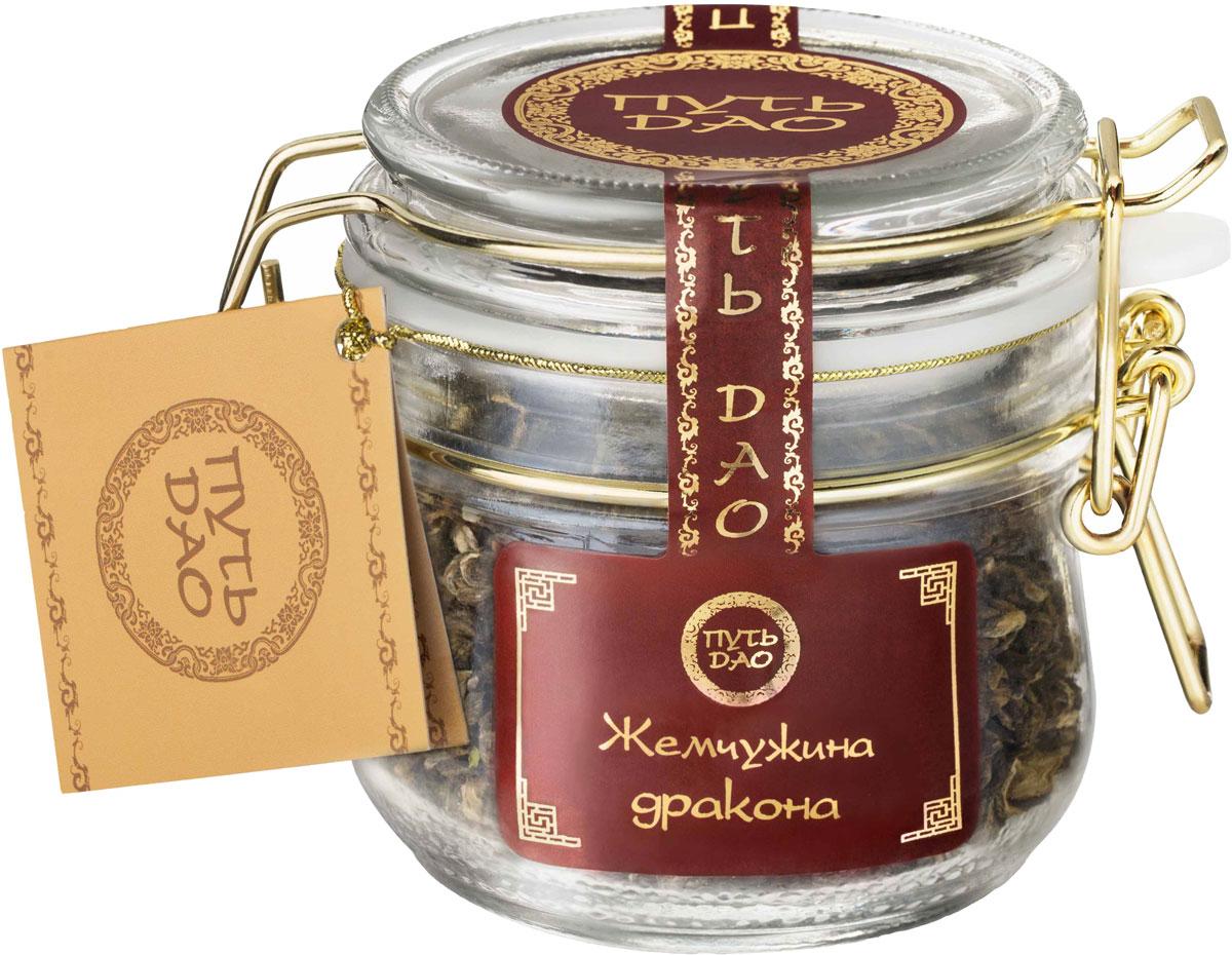 Nadin Путь Дао Жемчужина дракона чай зеленый листовой, 100 г цена